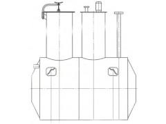 Резервуар горизонтальный стальной цилиндрический ЕПП-8-1300-2