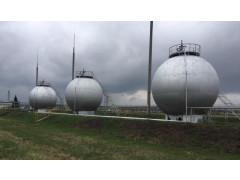 Резервуары стальные сферические (шаровые) РШС-600