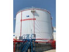 Резервуар стальной вертикальный цилиндрический теплоизолированный РВС-15000