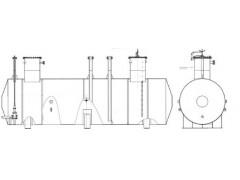 Резервуары стальные горизонтальные цилиндрические РГС-63 и РГС-100