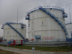 Резервуары стальные вертикальные цилиндрические с понтоном РВСП-5000