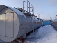 Резервуар стальной горизонтальный цилиндрический Р-30