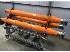 Комплект мер моделей дефектов для ультразвукового контроля полых осей электропоездов