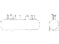 Резервуары стальные горизонтальные цилиндрические подземные РГСП-12,5