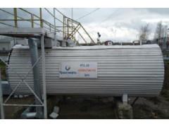 Резервуары стальные горизонтальные цилиндрические РГС-20 (17+3)