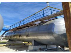 Резервуар стальной горизонтальный цилиндрический РГС-100