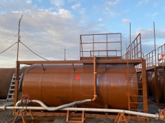 Резервуары горизонтальные стальные цилиндрические Рк-24 МГ