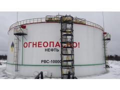 Резервуары стальные вертикальные цилиндрические РВС10000