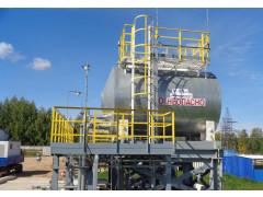 Резервуар стальной горизонтальный цилиндрический РГС25