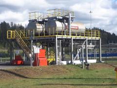 Резервуары горизонтальные стальные цилиндрические РЦ-20