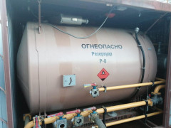 Резервуары горизонтальные стальные цилиндрические Р-8, Р-17