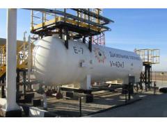 Резервуар горизонтальный стальной цилиндрический РГС-40