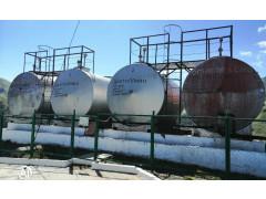 Резервуары горизонтальные стальные цилиндрические РГС-25, РГС-50