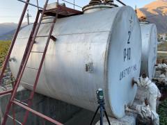 Резервуары горизонтальные стальные цилиндрические РГС-10, РГС-25