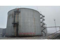 Резервуары стальные вертикальные цилиндрические теплоизолированные РВС-10000