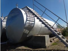 Резервуары стальные горизонтальные цилиндрические РГС-60, РГС-75