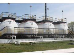 Резервуары стальные горизонтальные цилиндрические РГС-125