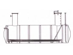 Резервуар стальной горизонтальный цилиндрический РГС-40