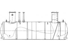Резервуары стальные горизонтальные цилиндрические ЕП-12,5, ЕП-40