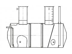 Резервуар стальной горизонтальный цилиндрический РГС-12,5