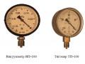 Вакуумметры, тягомеры показывающие ВП, ТП (Фото 1)